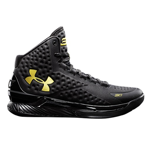 cad72062f6e7 This Black  Gold Under Armour Curry One Drops Next Week - WearTesters