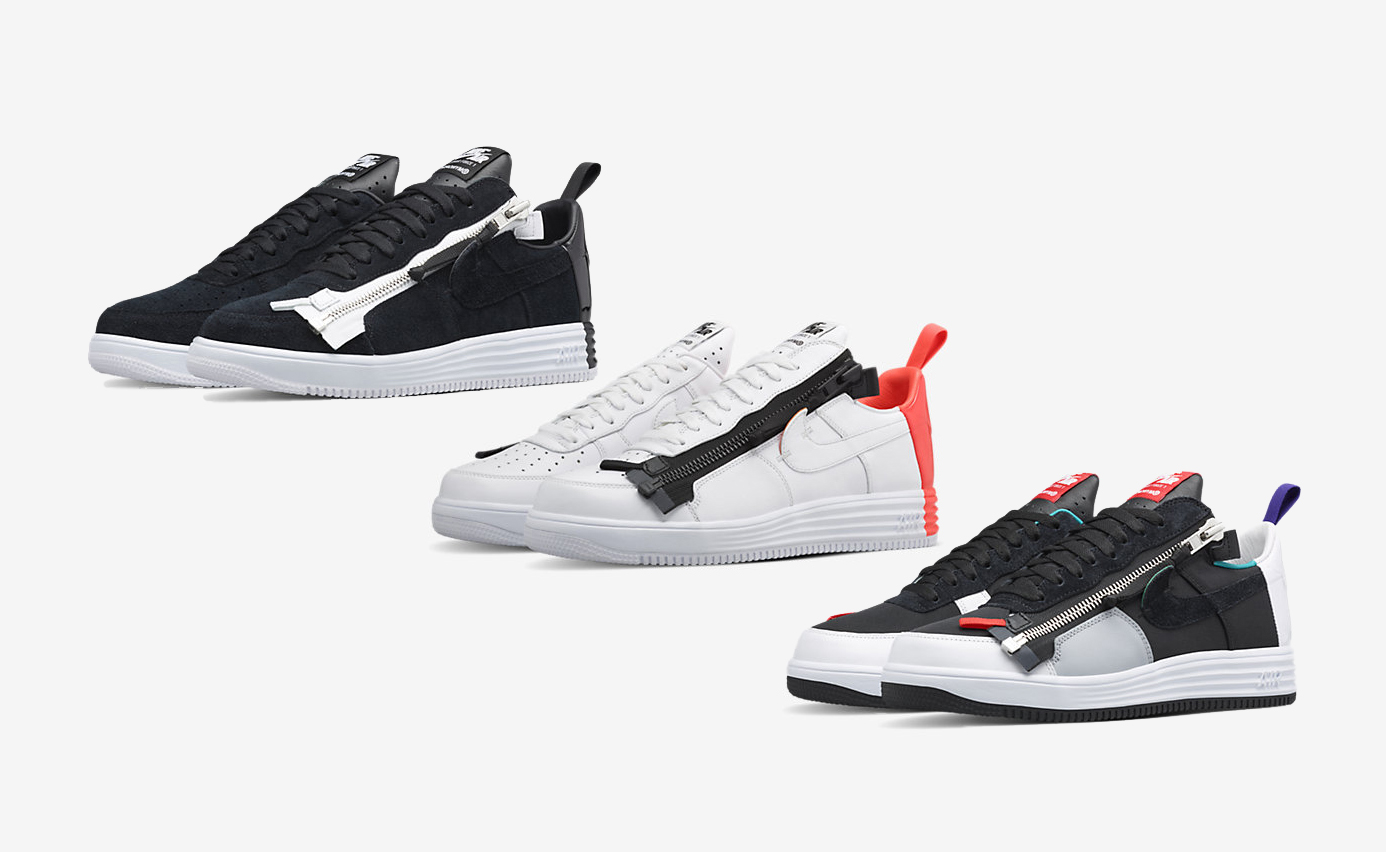 best cheap f79dd 401c4 Acronym Nike Lunar Force 1 SP colorways