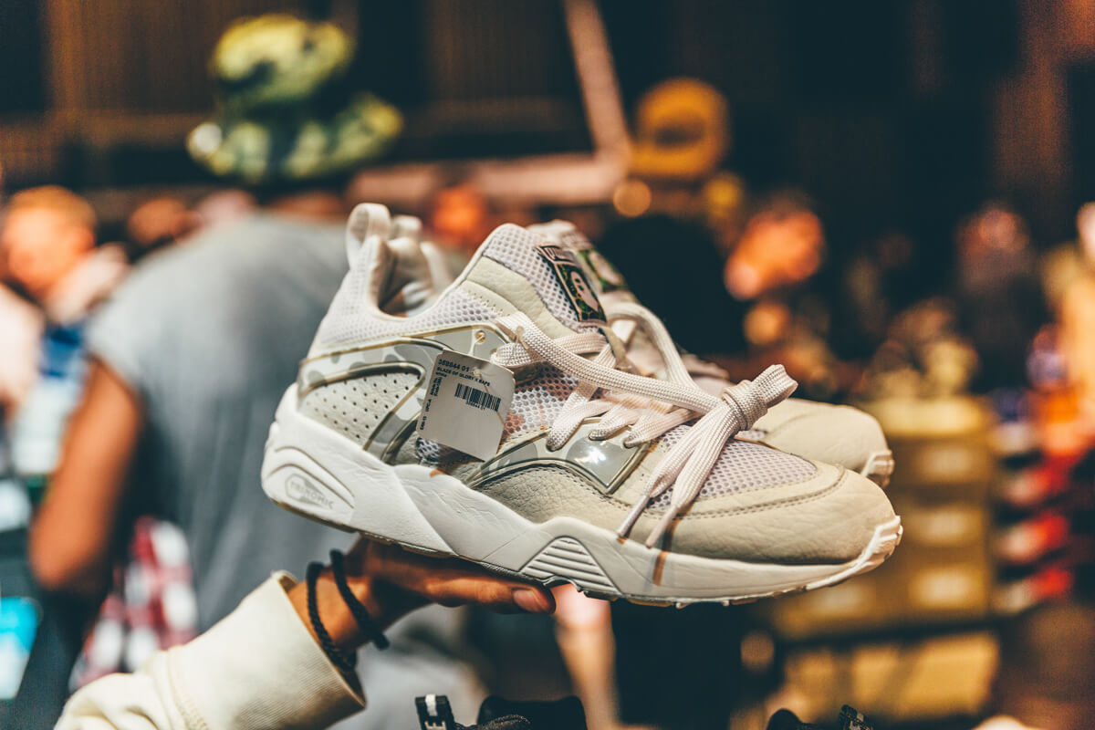 4cbe49d10107 Asics Gel-Lyte III Mazda MX-5 and BAPE x PUMA Sample at Sneakerness ...