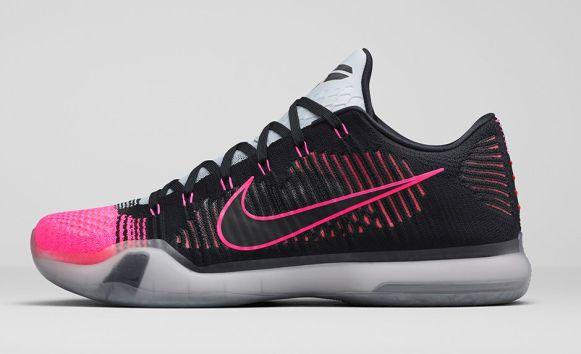 Nike Kobe X Elite 'Mambacurial' lateral