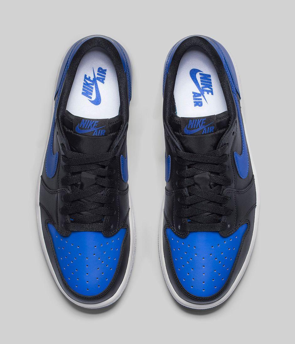 983f5441bb903b Get an Official Look at The Air Jordan 1 Retro Low OG  Royal  4 ...