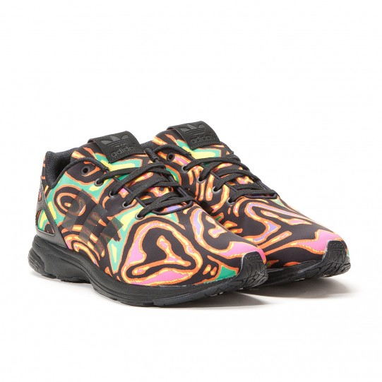 882d32711995c The adidas ZX Flux Gets Psychedelic On This Jeremy Scott Design ...