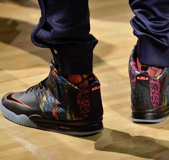 LeBron James Debuts the Nike Air Akronite