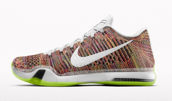 Multicolor Option Coming to the NikeiD Kobe X Elite Low