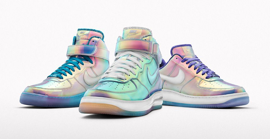 the best attitude 93cee 4ed0f Nike Air Force 1 - Iridescent Option Restocked on NikeiD - WearTesters