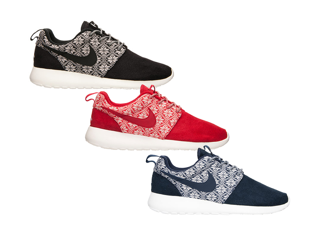 These Nike Roshe Ones are Beginning to Look a Lot Like Christmas ...