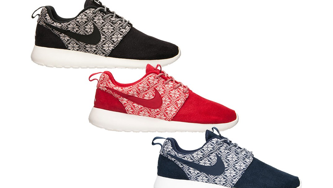 release date 92582 84309 These Nike Roshe Ones are Beginning to Look a Lot Like Christmas ...