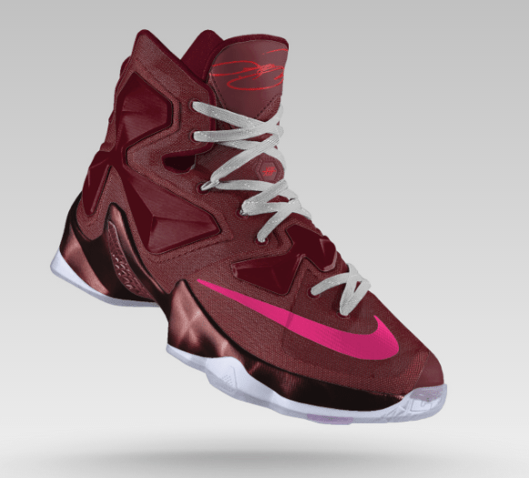 451a78b822b The LeBron 13 Just Hit NikeiD - WearTesters