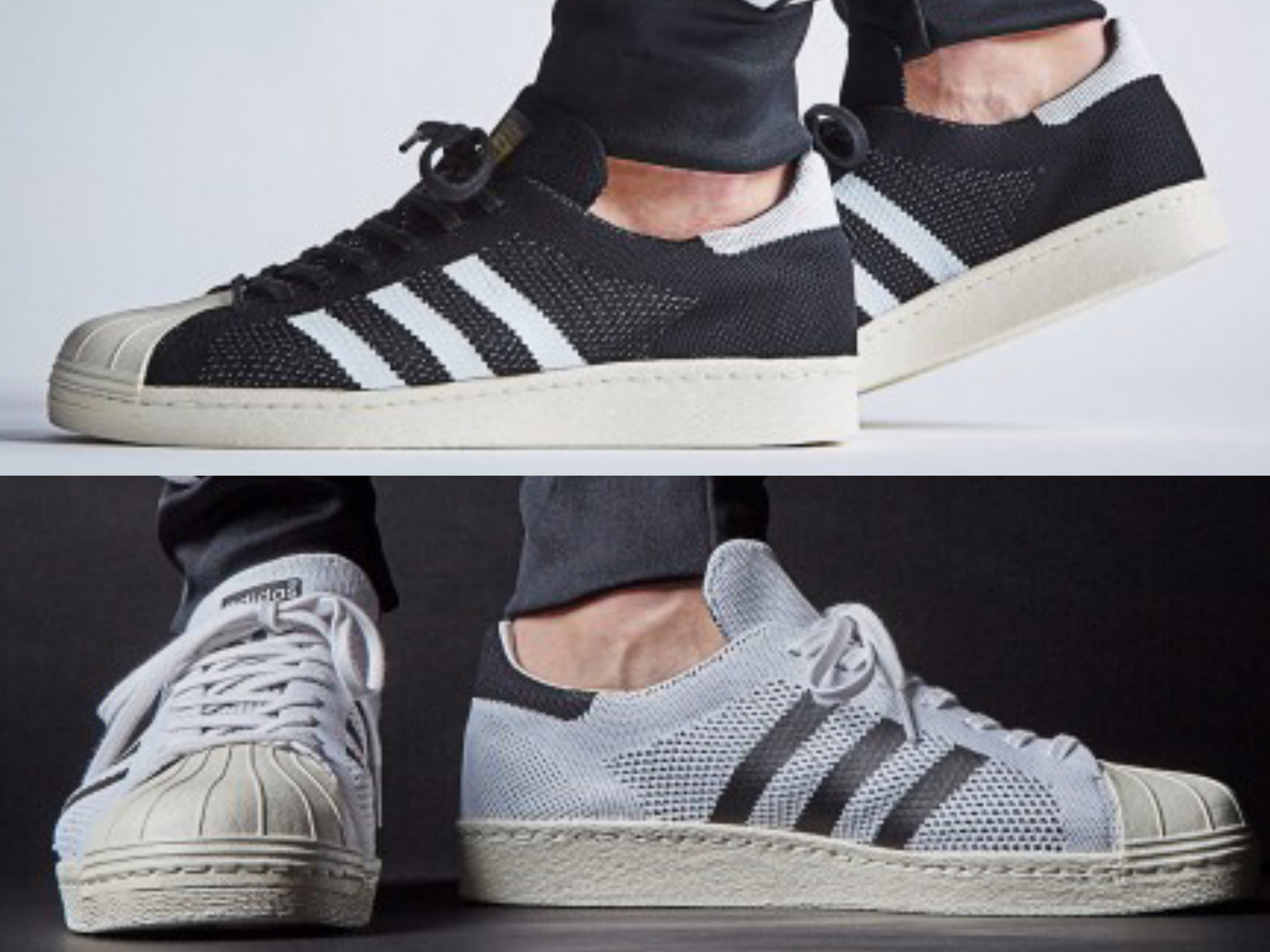 eb21d23bf2fd The adidas Superstar 80s Primeknit Just Dropped in 2 Colorways ...
