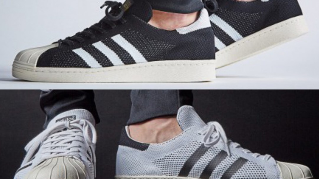 The adidas Superstar 80s Primeknit Just Dropped in 2 Colorways ... 1a728ef80