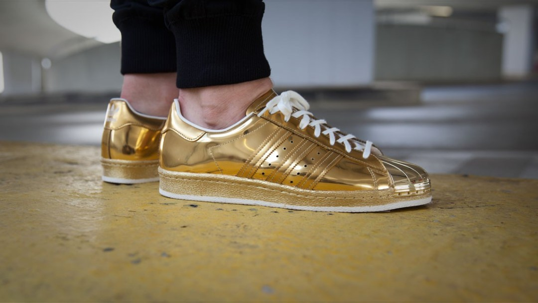Shine On with the adidas Superstar 80s  Metallic Gold  - WearTesters 60d6994a9