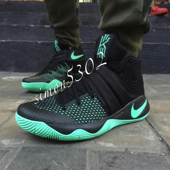 Get a Good Look at The Nike Kyrie 2 in Green Glow 7