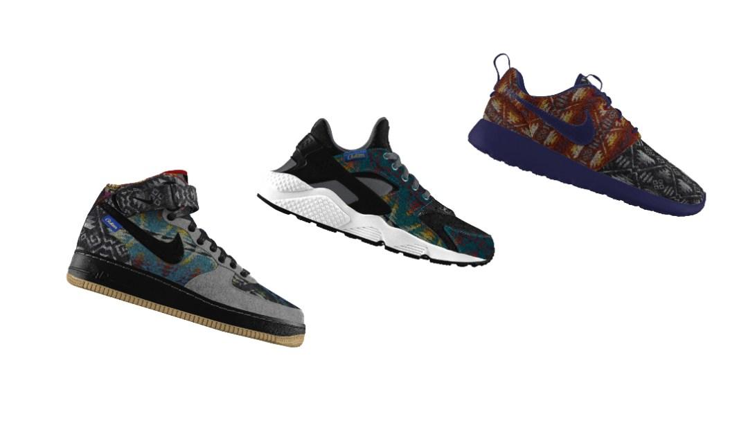 wholesale dealer f1136 8d729 Pendleton Wool Returns as a Custom Option on Nike iD - WearTesters