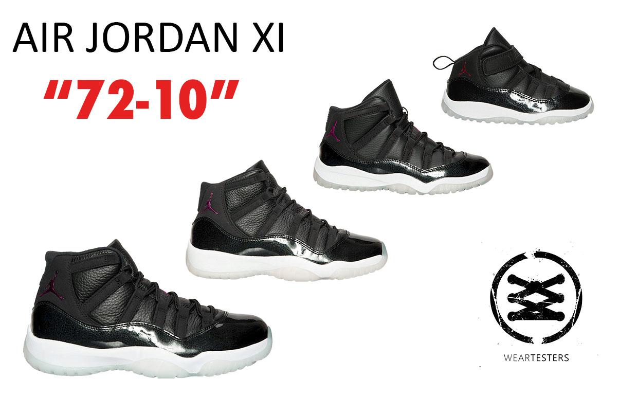 reputable site cadfe 9756a Air jordan 11 xi 72-10 ...