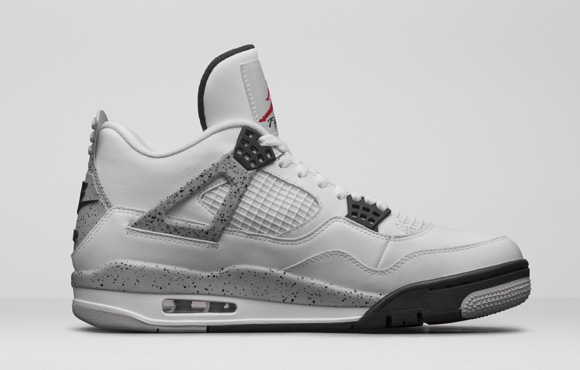Get an Official Look at the Remastered Air Jordan 4 Retro in White Cement 2
