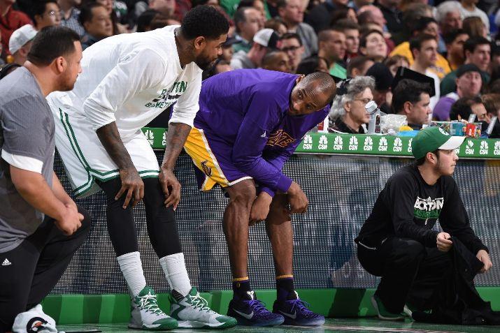 The Mamba Wears the Kobe XI for His Last Run in Boston-3