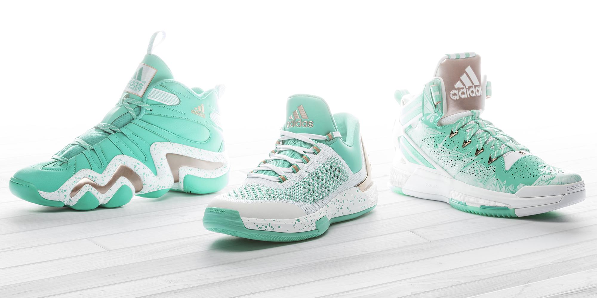 buy popular 318ac 16595 adidas  Kicks On Court ...