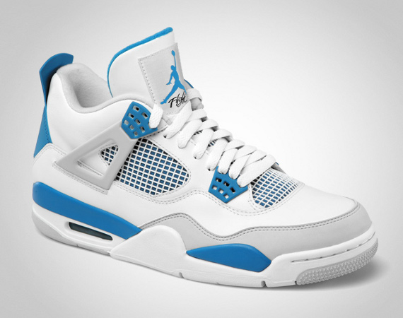 huge selection of 882b5 36801 Air Jordan Retro 4  Military Blue  in the Mix - WearTesters