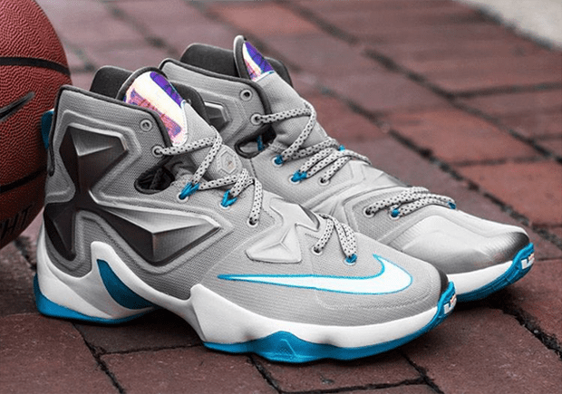 d9ac03ede07 The Nike LeBron 13  Blue Lagoon  Dropped Early   Below Retail ...