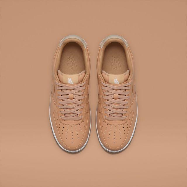 separation shoes 13d55 95c54 ... Nike Air Force 1 Vachetta Tan top view ...