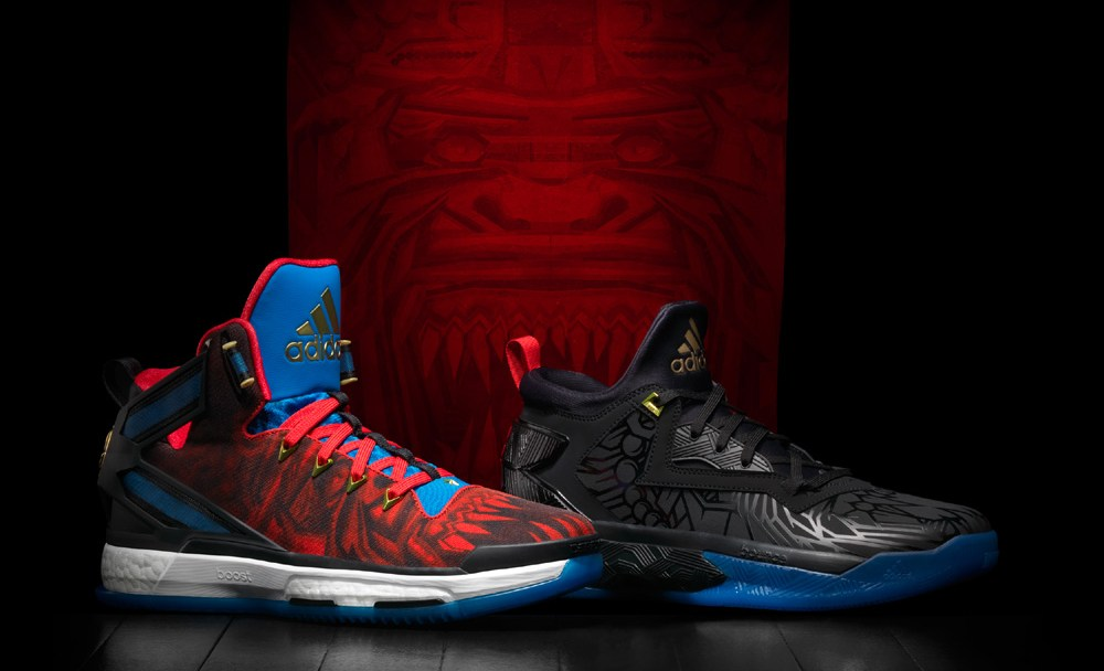 best authentic 4405a c07b1 The adidas Basketball  Chinese New Year  Pack (D Rose 6   D Lillard ...