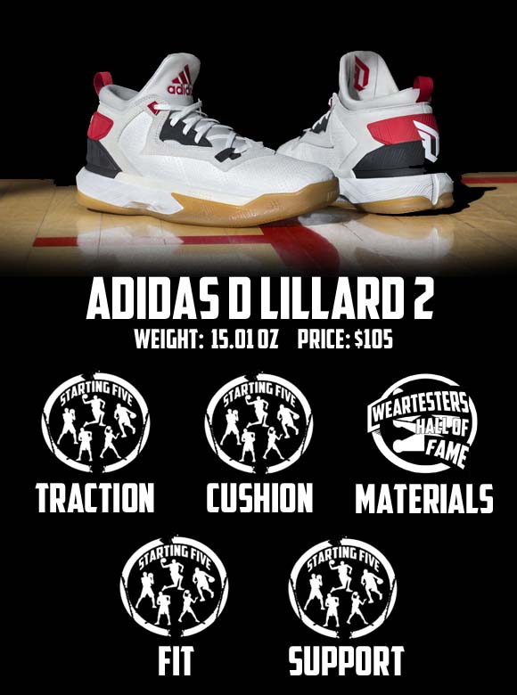 63304b46b adidas D Lillard 2 Performance Review - WearTesters