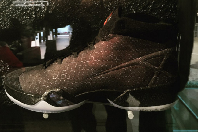 b9e0a886630412 Check Out the Air Jordan XXX (30) in Black - WearTesters