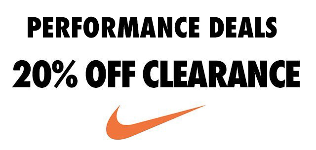 3fac919cc Performance Deals: Clearance Nike Shoes for 20% Off - WearTesters
