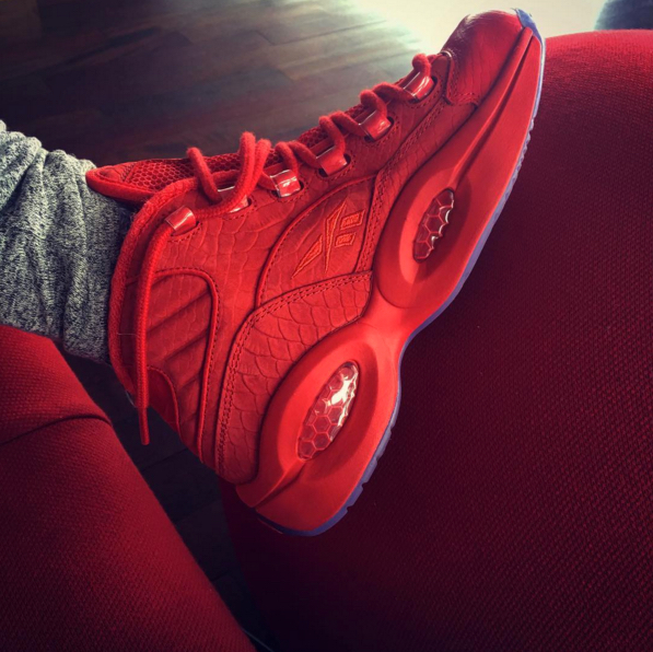 10cae1a325007f Teyana Taylor s Third Sneaker is a Reebok Question - WearTesters