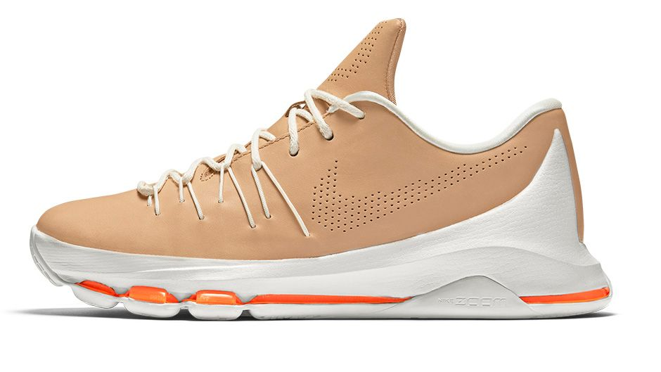35768b3ee2e2 Premium Leather Makes Up the Nike KD 8 EXT  Vachetta Tan  - WearTesters