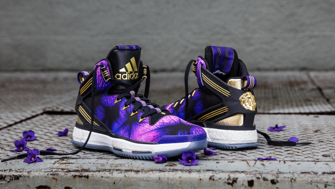 ac9b10b0b60f The Illinois Inspired adidas D Rose 6  Florist City  is Available ...