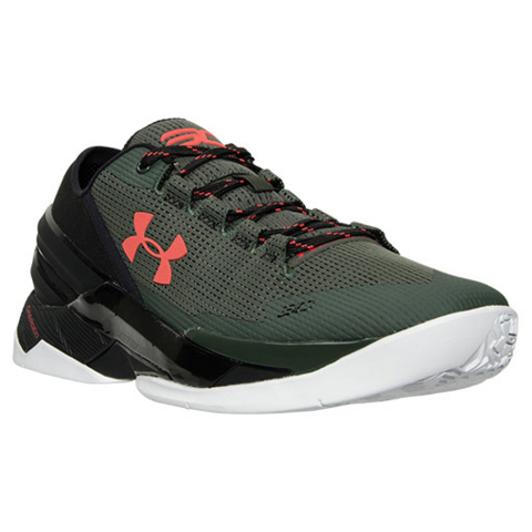 Get an Official Look at the Upcoming Under Armour Curry 2 Low in Combat Green 1