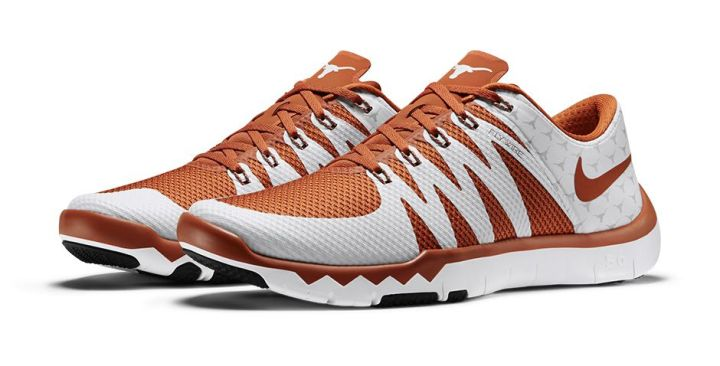 b5f0fe2ab621 ... Oklahoma Sooners Nikestore Eastbay Nike Free Trainer 5.0 V6 March  Madness Collection texas longhorns ...