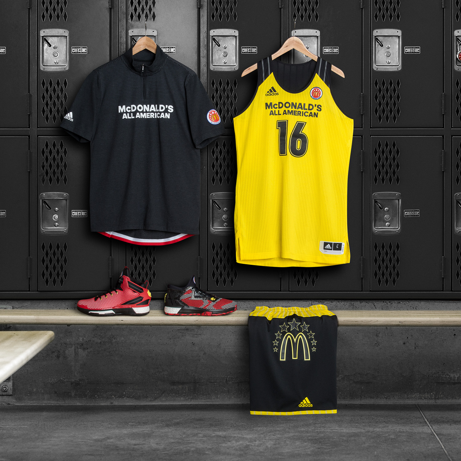 adidas Unveils Uniform Collection for 2016 McDonald¹s All American Games-20 2633dc952