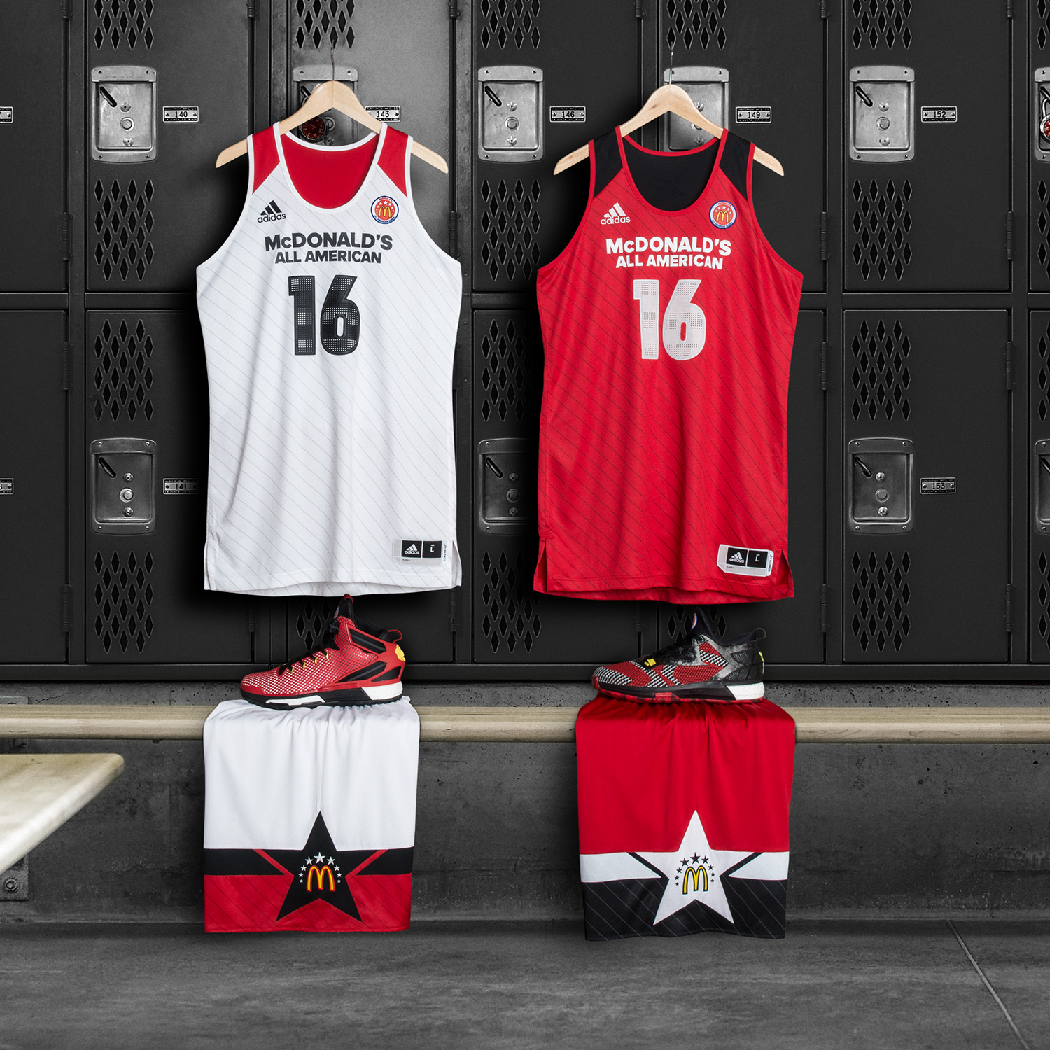 e6ad5aa52 adidas Unveils Uniform Collection for 2016 McDonald s All American ...