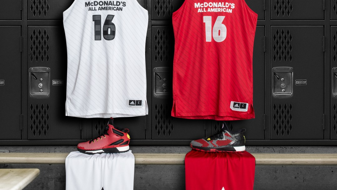 e3bcb80b2 adidas Unveils Uniform Collection for 2016 McDonald s All American ...