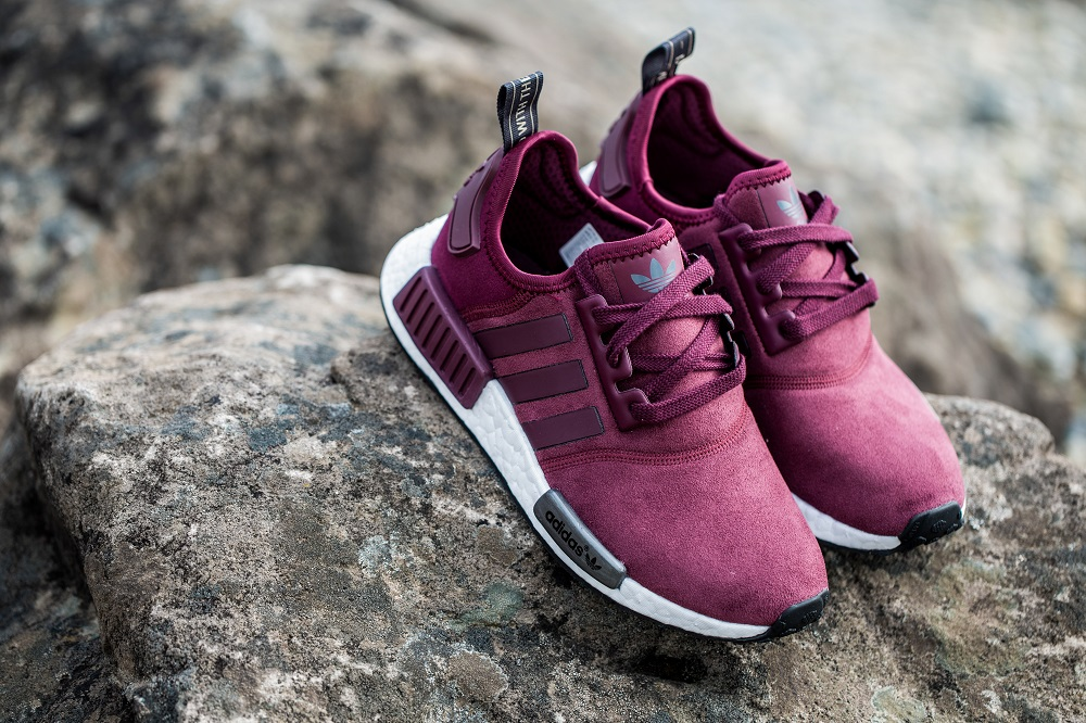 8dee1fd5e2370 ... order womens nmd s75231 adidas wm nmd runner maroon copper 130.  adidasnmdwomenssuede31716 3 33215 c7f5c