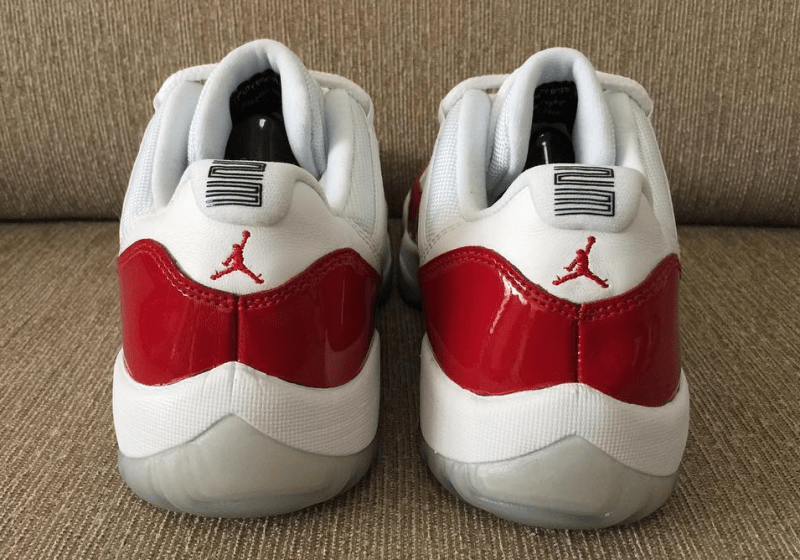 the latest 11fe0 73f57 The Air Jordan 11 Low  Varsity Red  is Returning - WearTesters