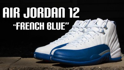 "8f9b373dccb108 Air Jordan 12 Retro ""French Blue"" – Detailed and On Foot Review"