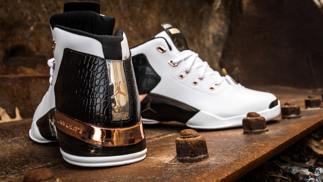9dd46e82e83654 Take an Intimate Look at the Air Jordan 17+ Retro  Copper  - WearTesters