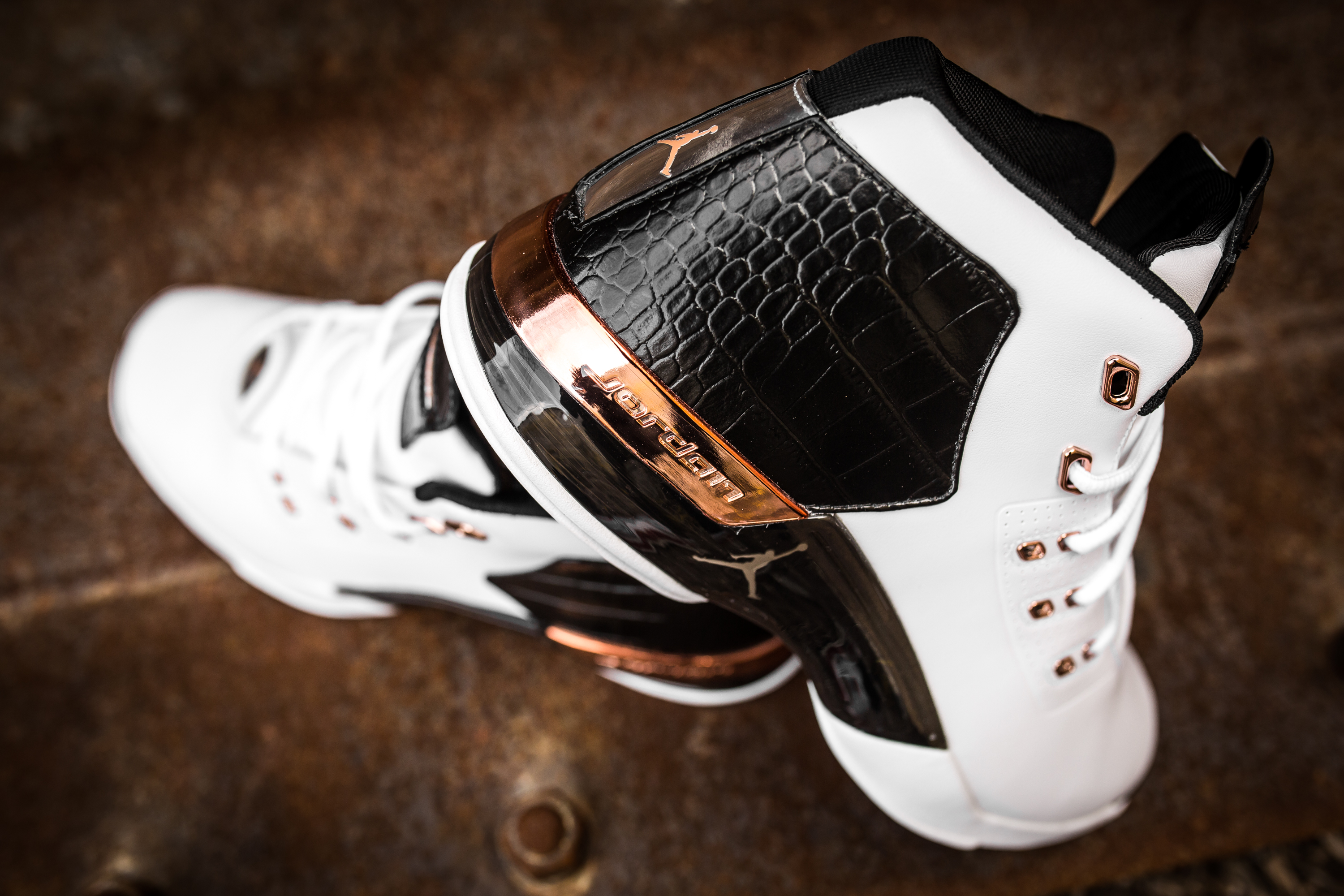 cfe1b5b30c0962 Take an Intimate Look at the Air Jordan 17+ Retro  Copper -7 ...