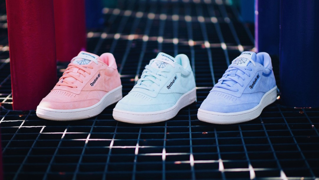 Reebok Classic Does Pastels with the Club C 85 Pack - WearTesters a7e544124