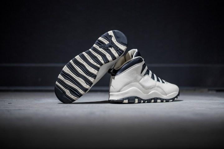 Air Jordan X Pearl/Black GS 2