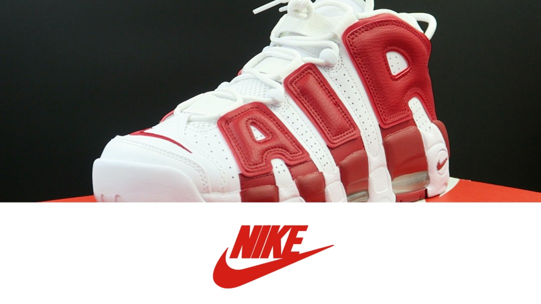 low priced 286f1 398a2 Nike Air More Uptempo White  Gym Red   Detailed Look and Review ...