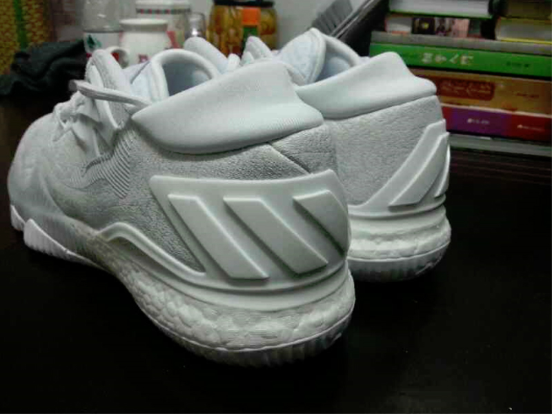 separation shoes cbd2e c20a5 Get a Detailed Look at the Triple White adidas CrazyLight Boost 2016 3