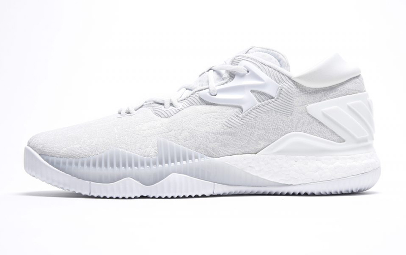 5e8608c871c6 Get up Close and Personal with the Triple White adidas CrazyLight ...