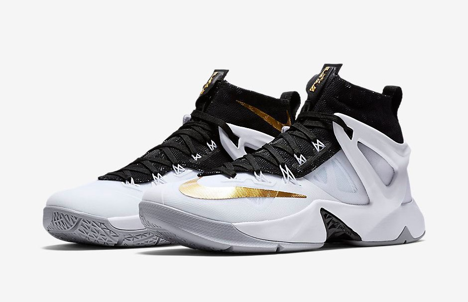 7c1099e88c17 The Nike LeBron Ambassador 8 White Gold  Championship  is Now ...
