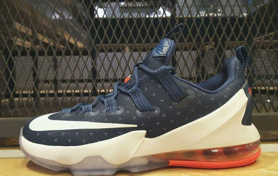 9aaff3d23f6ee Get Patriotic in the Nike LeBron 13 Low  USA  - WearTesters