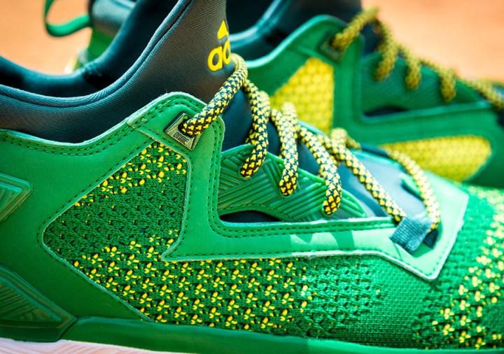 9335cdc0a The adidas D Lillard 2  Oakland A s  w  Bounce   Primeknit Has ...
