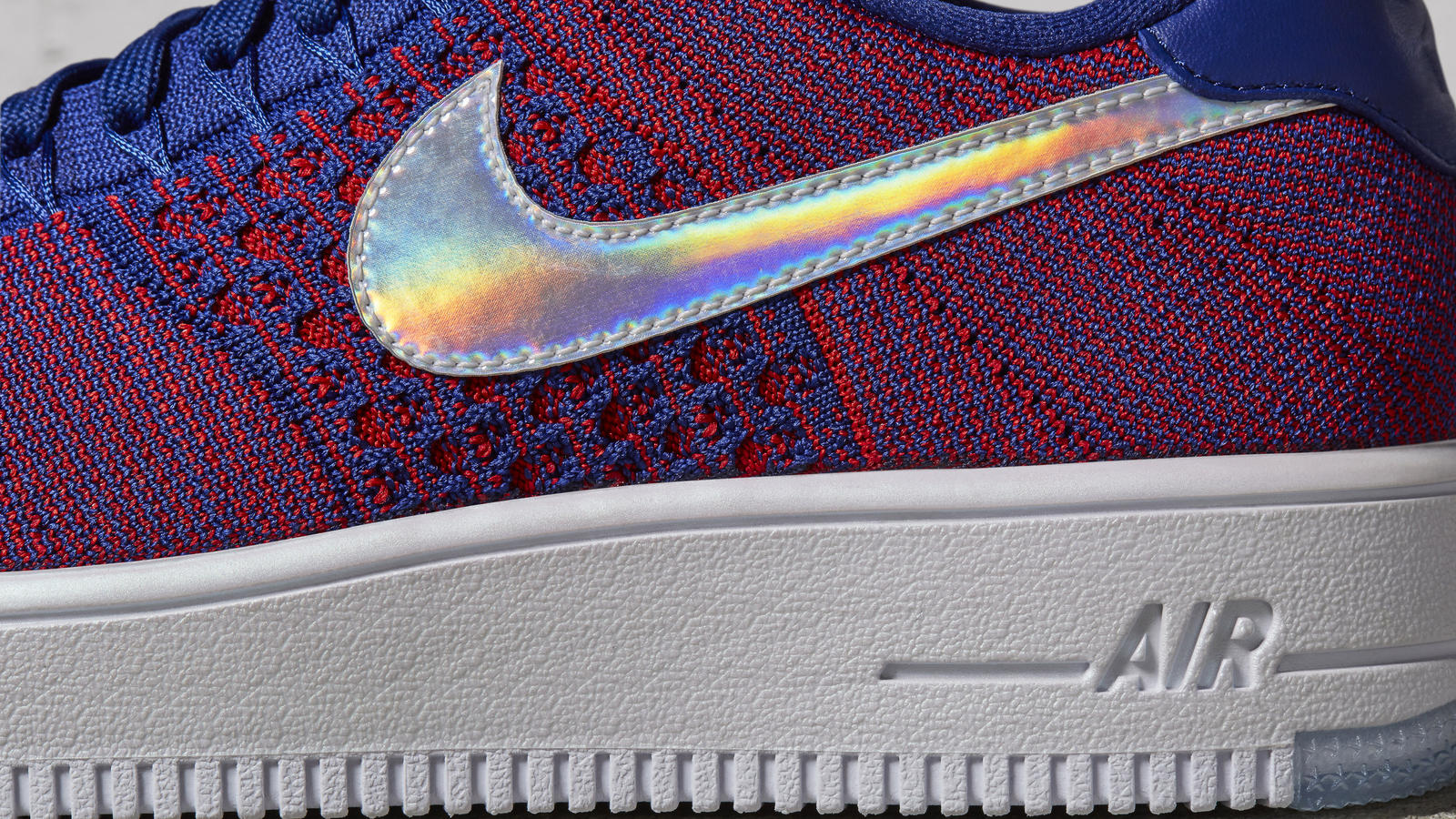 new concept 3ce6c 37b4d The Nike Air Force 1 Ultra Flyknit Low Gets a  USA  Colorway-4